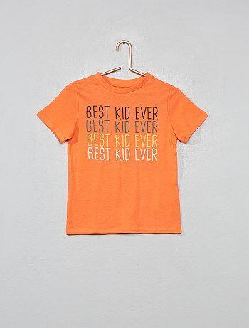 Camiseta estampada con mensaje - Kiabi a5525e0cb0d