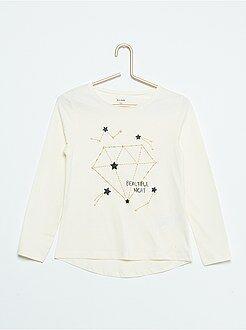 Camiseta estampada 'constelaciones'