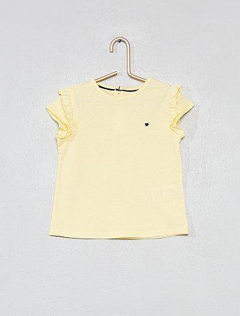 Niña 0-36 meses - Camiseta estampada de algodón orgánico - Kiabi e939e419a8e8