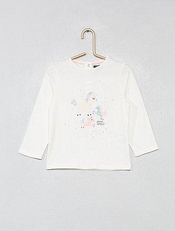 Bebé niña camisetas manga larga y accesorios baratos - moda Bebé ... 12fa0443790d