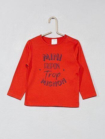 Camiseta estampada de algodón puro - Kiabi 77ae8e9f9cbf