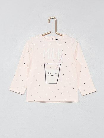 Bebé niña camisetas manga larga y accesorios baratos - moda Bebé ... 558bacad1148