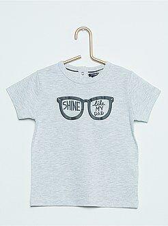 Camisetas manga corta - Camiseta estampada de manga corta 'Monstruitos'