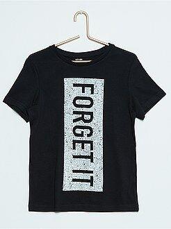 Niño 10-18 años Camiseta estampada de manga corta