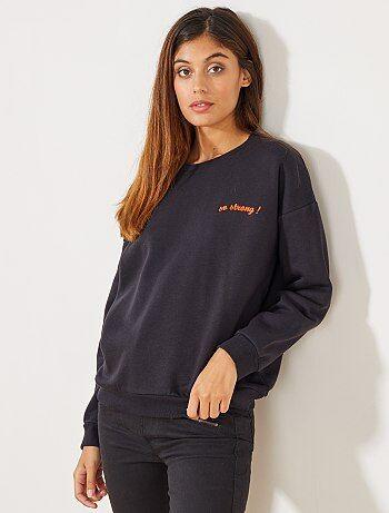 Mujer talla 34 to 48 - Camiseta estampada de manga corta - Kiabi