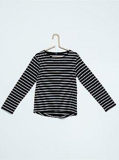 Niña 4-12 años Camiseta estampada de manga larga