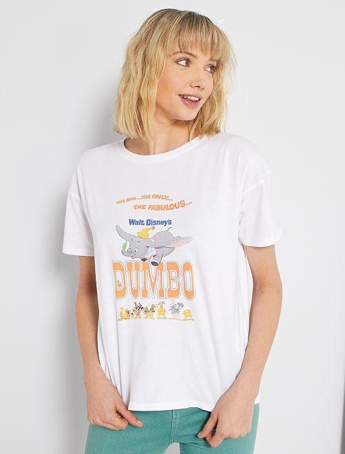Camiseta estampada 'Dumbo'                                                                                                                 NARANJA