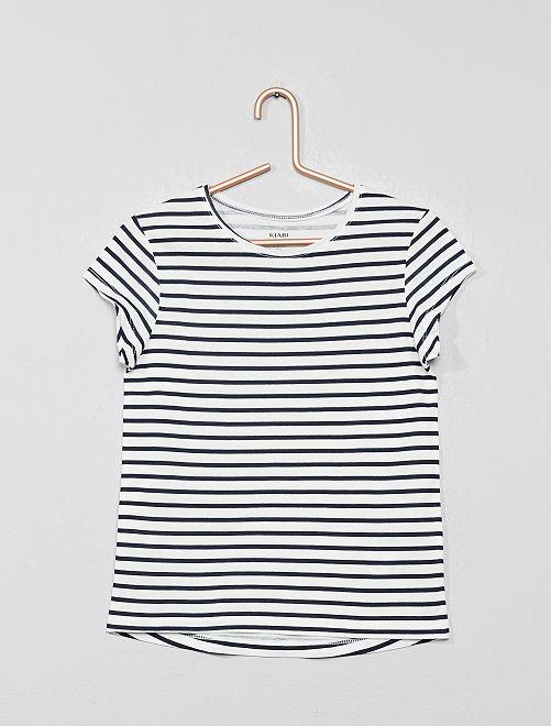 Camiseta estampada 'Eco-concepción'                                                     BLANCO