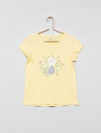 486572bb2 Camiseta estampada 'ecodiseño' - Kiabi
