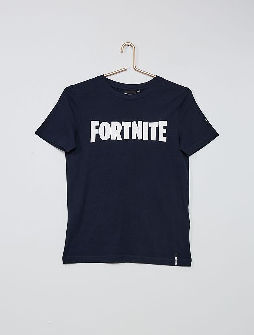 Camiseta estampada 'Fortnite'                             AZUL