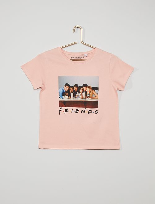 Camiseta estampada 'Friends'                             ROSA