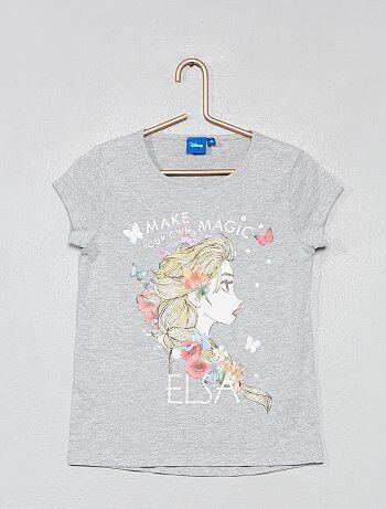 46f47f141 Camiseta estampada  Frozen  - Kiabi