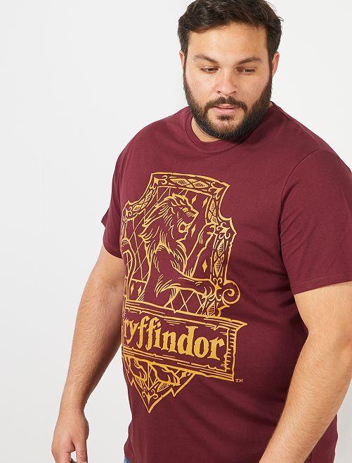 Camiseta estampada 'Harry Potter'                             burdeos