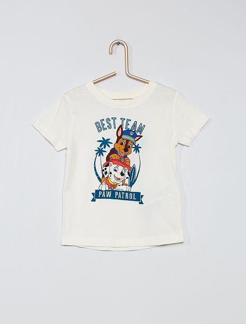 Camiseta estampada 'La Patrulla Canina'                                                     blanco