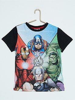 Niño 3-12 años Camiseta estampada 'Los Vengadores'