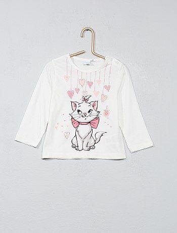 Camiseta estampada 'Marie' - Kiabi
