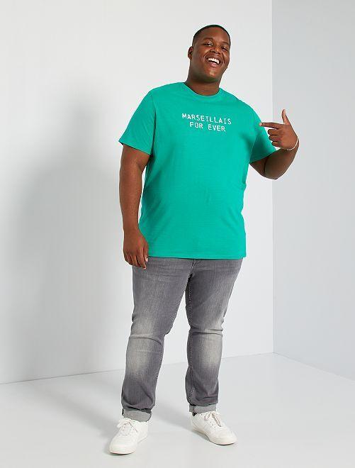 Camiseta estampada Marsella                                         VERDE