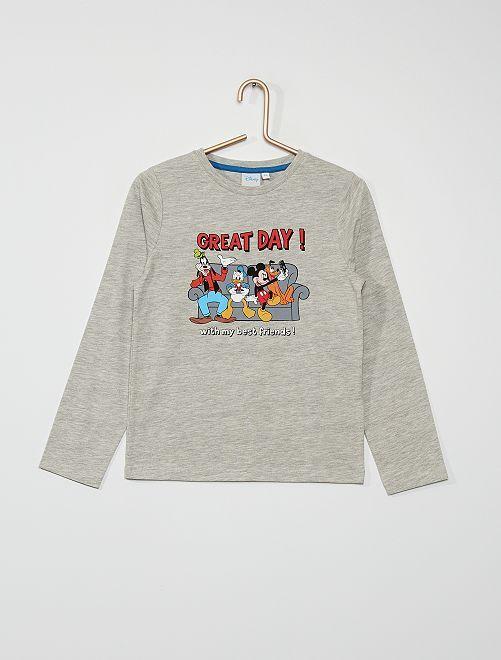 Camiseta estampada 'Mickey & Friends'                                                                             GRIS