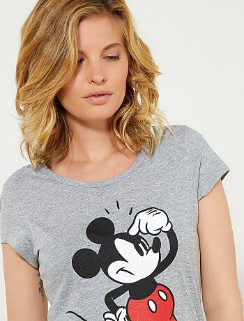 Camiseta estampada 'Mickey' - Kiabi