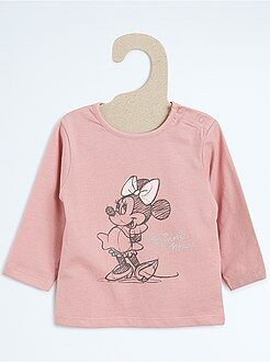 Niña 0-36 meses Camiseta estampada 'Minnie'