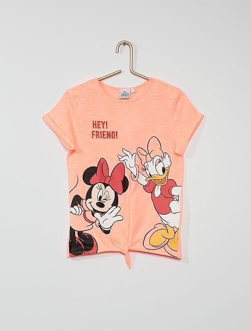 Camiseta estampada 'Minnie' y 'Daisy'                             ROSA