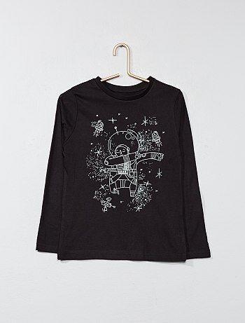 Niño 3-12 años - Camiseta estampada - Kiabi