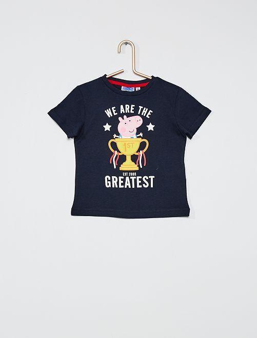 Camiseta estampada 'Peppa Pig'                                         AZUL