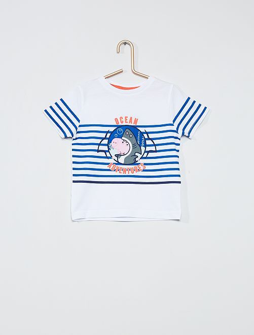 Camiseta estampada 'Peppa Pig'                                         BLANCO