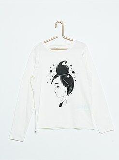 Camisetas - Camiseta estampada 'sky lover'