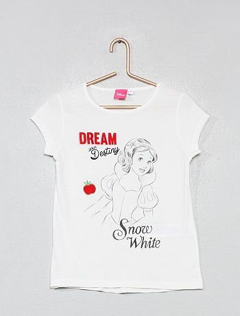 Camiseta estampada  Snow white  - Kiabi fe519d37da1fb