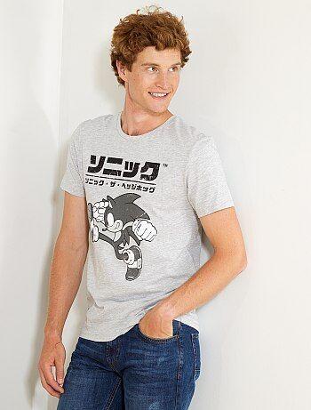 Camiseta estampada 'Sonic' - Kiabi