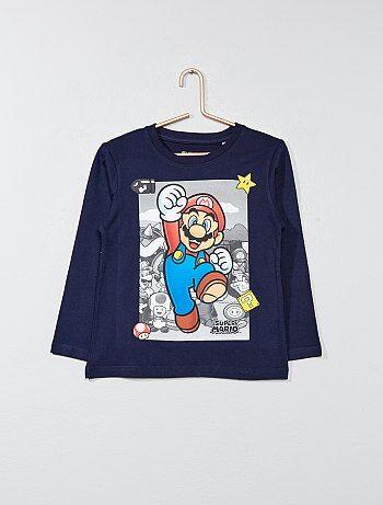 Camiseta estampada 'Super Mario' - Kiabi