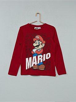Camiseta estampada 'Super Mario'