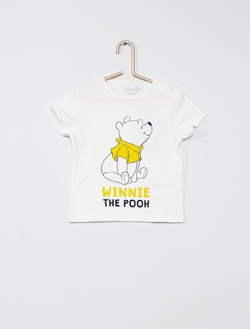 Camiseta estampada 'Winnie'                             BLANCO