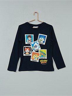 Camisetas, polos - Camiseta estampada 'Yo-Kai Watch'