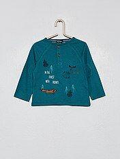 elige auténtico calidad de marca compra genuina Camisetas Bebé | verde | Kiabi