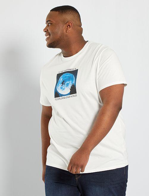 Camiseta 'E.T.' eco-concepción                             BLANCO