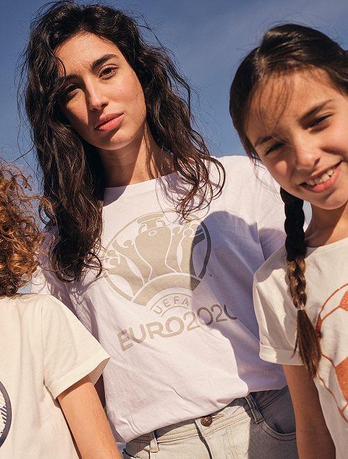 Camiseta 'Euro 2020'                             blanco