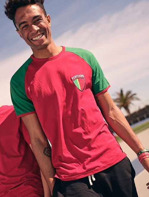 Camiseta Eurocopa 2020 'eco-concepción'                                                                 ROJO