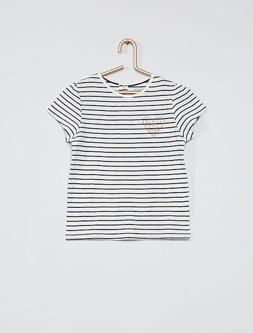 Camiseta 'familia' 'eco-concepción'                             BLANCO