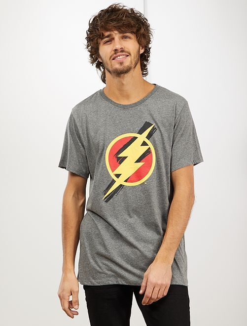 Camiseta 'Flash'                             GRIS