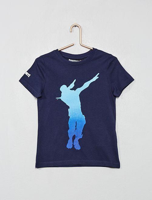 Camiseta 'Fortnite'                             AZUL