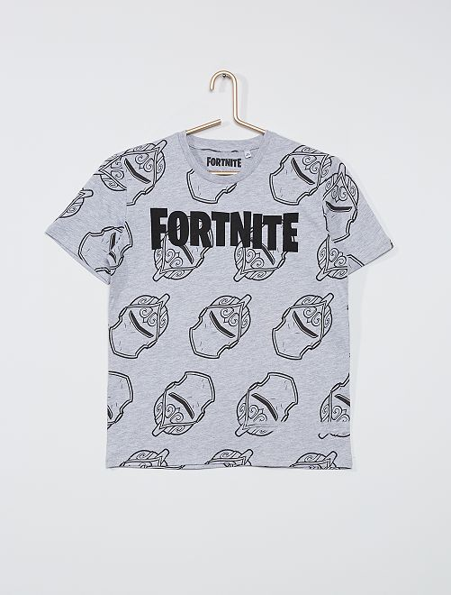 Camiseta 'Fortnite'                                         gris