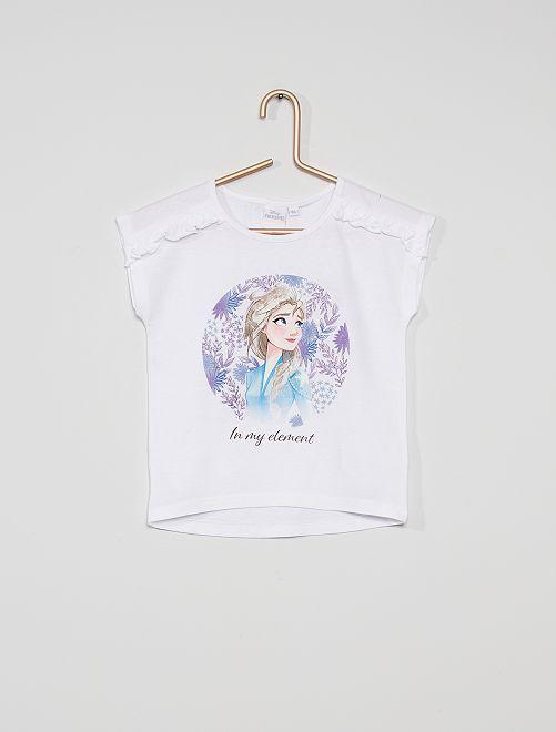 Camiseta 'Frozen' de 'Disney'                     blanco