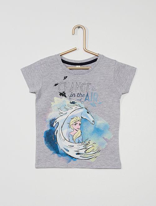 Camiseta 'Frozen' de 'Disney'                                         gris chiné