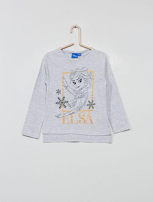 Camiseta 'Frozen'                             gris chiné