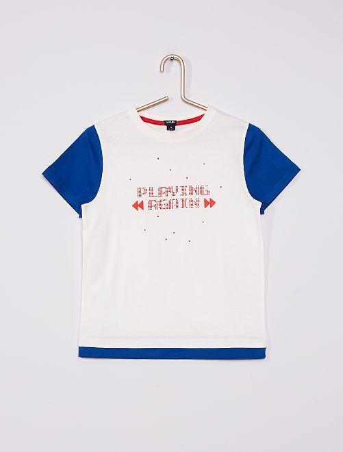 Camiseta 'gaming'                                                     BEIGE