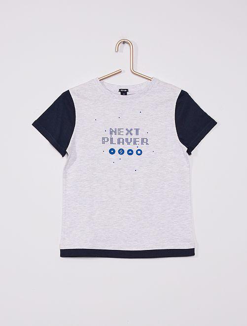 Camiseta 'gaming'                                                     GRIS