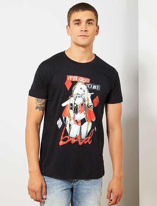 Camiseta 'Harley Quinn'                             negro