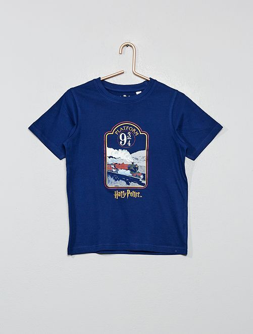 Camiseta 'Harry Potter'                             azul